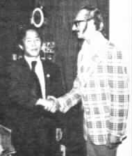 GM Humesky with Founder of TKD--Gen. Choi, Hong Hi